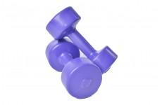 Гантели виниловые Plenergy Titan 2х4 кг Фиолетовый
