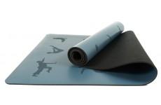 Коврик для йоги EasyFit каучуковый синий