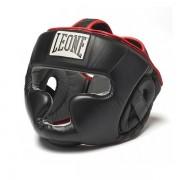 Боксерский шлем Leone Full Cover Black M фото