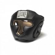 Боксерский шлем Leone Junior Black XS фото