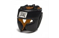 Боксерский шлем Leone Performance Black Черный L