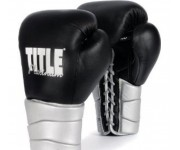 Боксерские перчатки TITLE Platinum Paramount Lace Training Glove