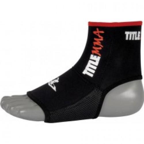 Бандаж для голеностопного сустава TITLE MMA Pro Ankle/Foot Grips
