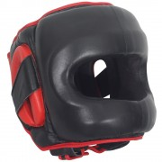 Боксерский шлем RINGSIDE Deluxe Face Saver Boxing Headgear фото