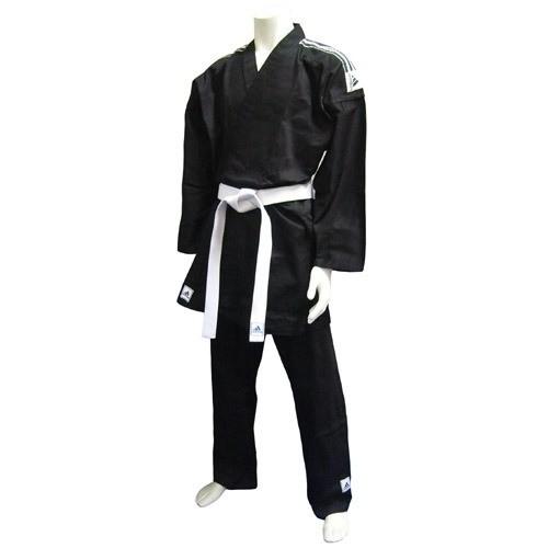 Кимоно для карате Adidas K270 Black with Stripes