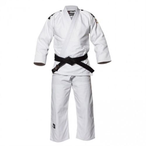 Кимоно для дзюдо FUJI Sports Deluxe White Judo Gi