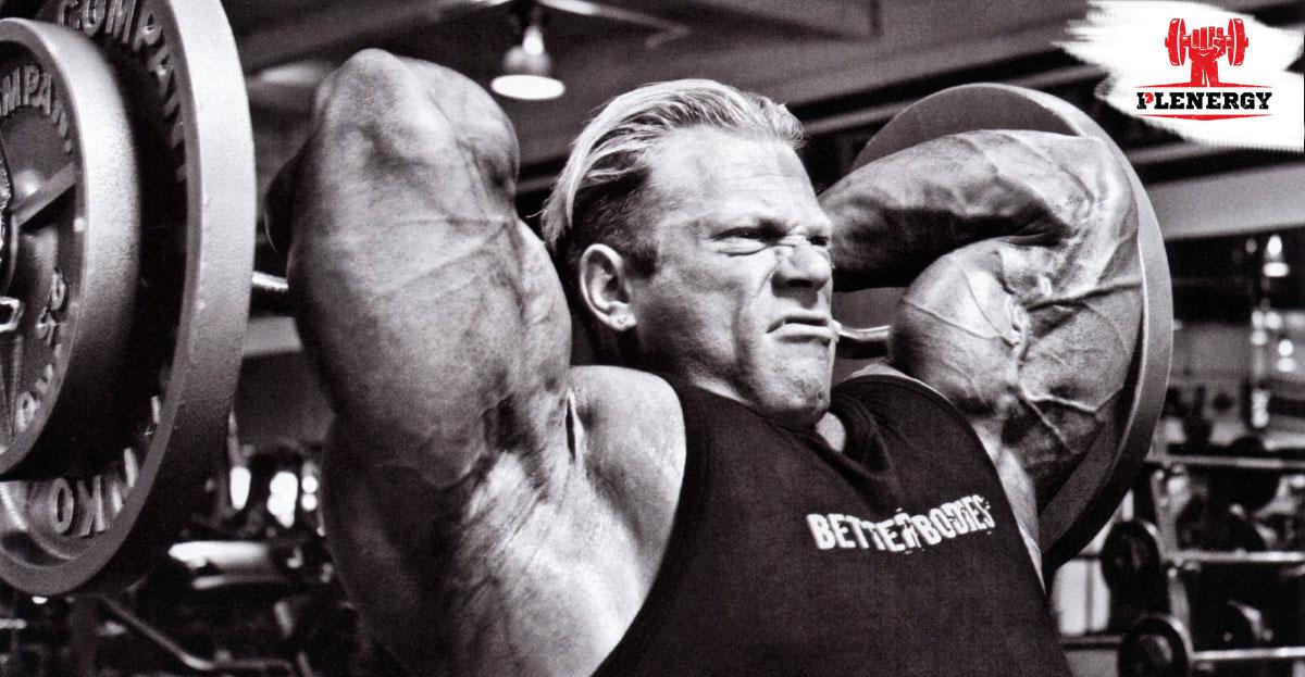 Чтобы руки стали больше, нужно тренировать трицепс!